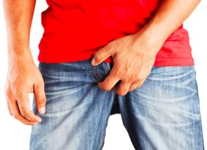masturbación de la próstata